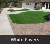San Diego Pavers - Marylin White Paving Project