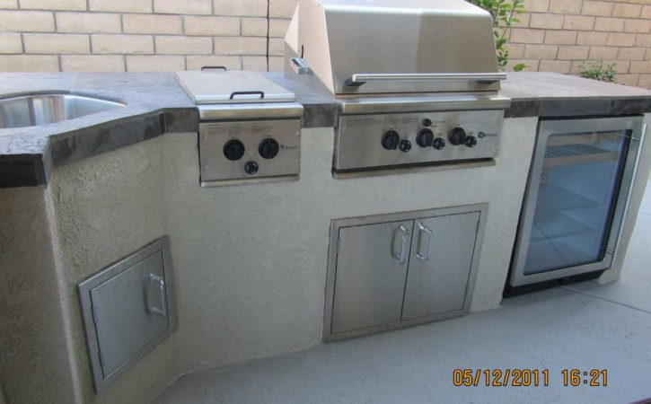 Outdoor BBQ Island Design Poway