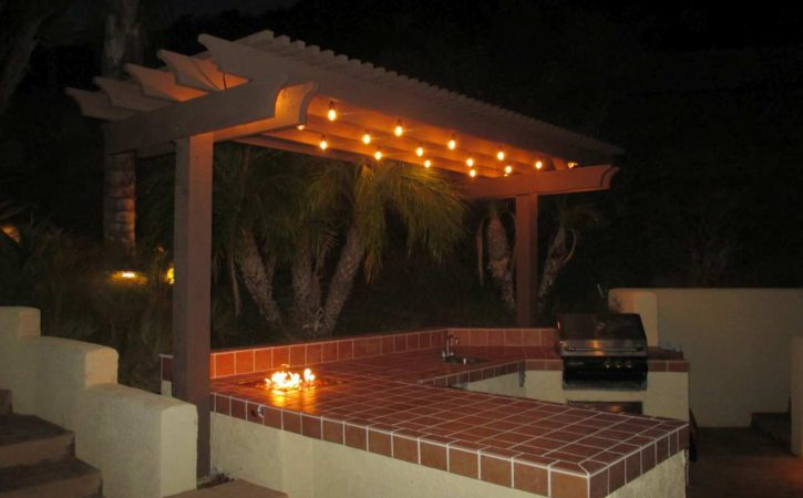 Outdoor BBQ Island Design Rancho Santa Fe