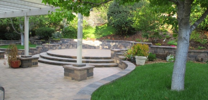 Rancho Santa Fe Patio Stone Pavers