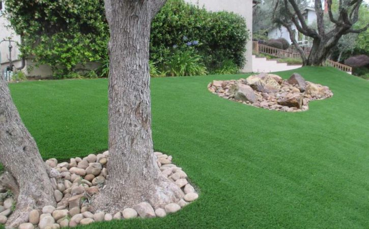 Artificial turf landscaping ideas pacific dreamscapes for Garden design ideas artificial grass