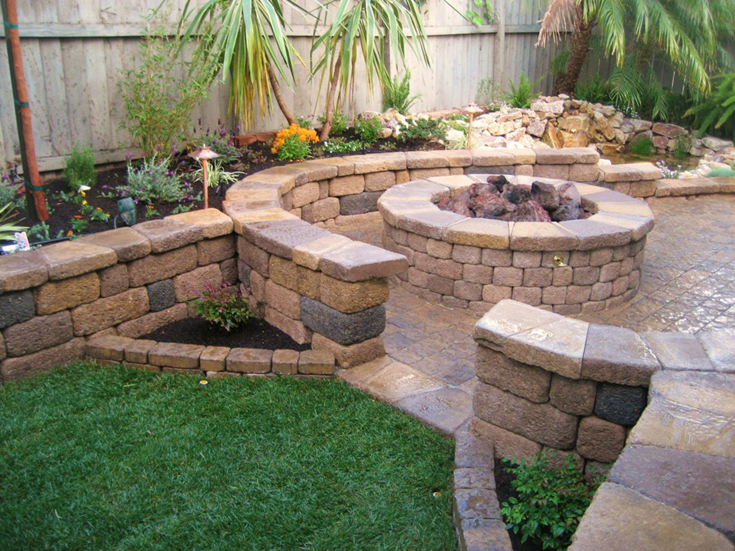 Backyard Design San Diego backyard design san diego great pavers diego ca artificial grass 17 San Diego Landscape Design Ideas