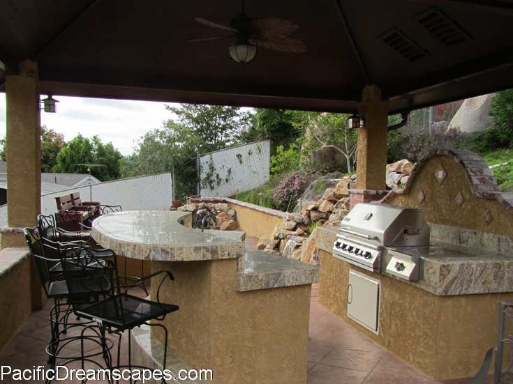 Bay Park Outdoor Kitchen Ideas