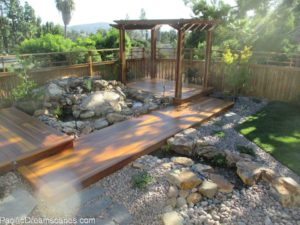 pondless waterfall construction in la mesa