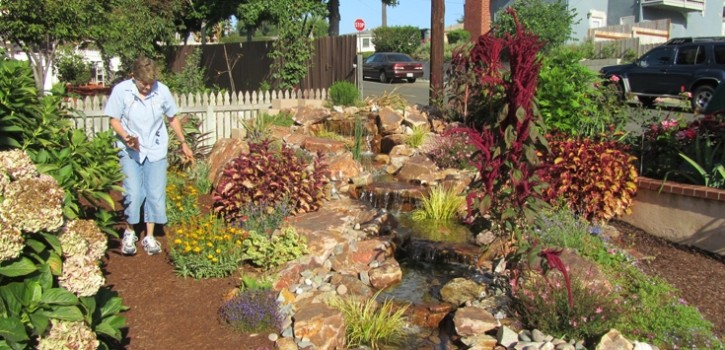 la jolla pondless waterfall design