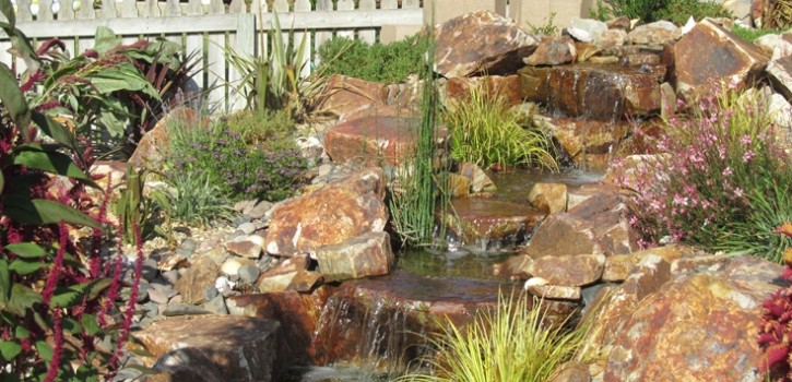 poway pondless waterfall design