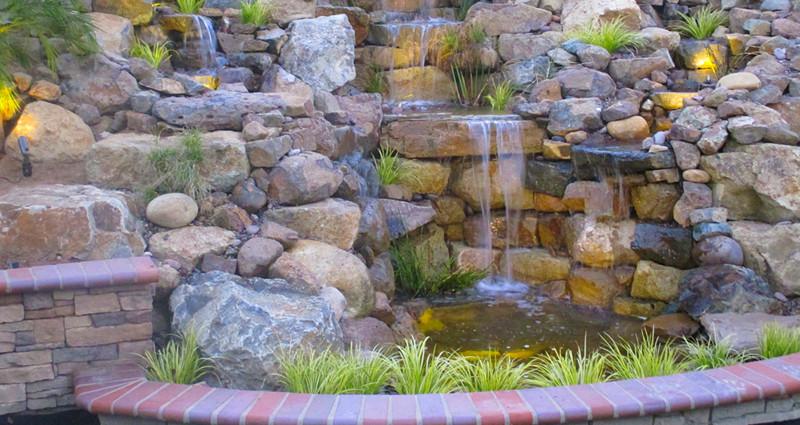 Backyard Water Falls