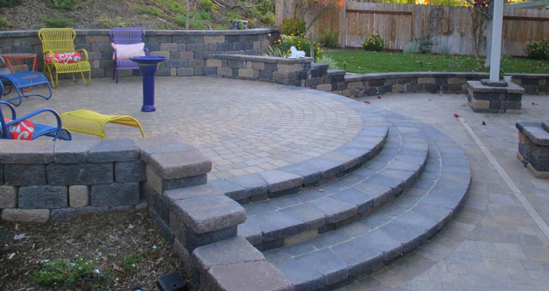 Stone Paver Steps