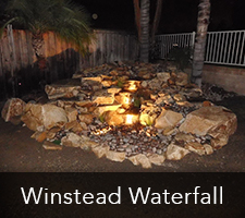 Winstead Waterfall Project