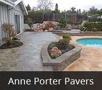 San Diego Pavers - Anne Porter Paving Project