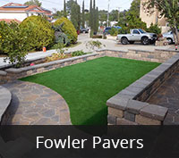 San Diego Pavers - Fowler Paving Project