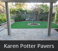 San Diego Pavers - Karen Potter Paving Project