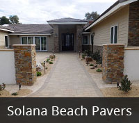 San Diego Pavers - Solana Beach Paving Project