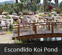 Escondido Koi Pond Bridge Project