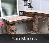 San Marcos Outdoor Kitchen Project