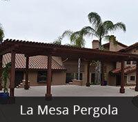 La Mesa Pergola Project