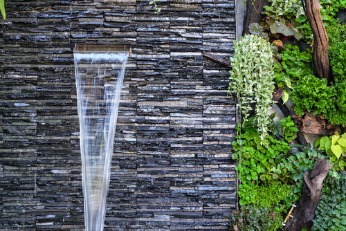 What is a wall fountain