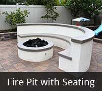 San Carlos Fire Pit with Seating Project