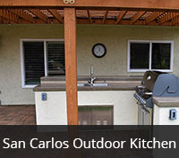 San Carlos Outdoor Kitchen Project