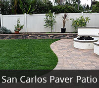 San Carlos Paver Patio Project