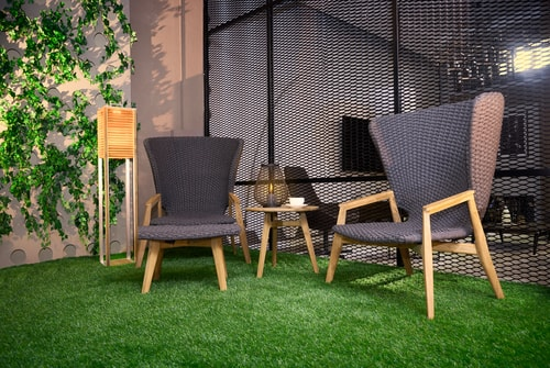 Chairs on Lawn - Artificial Turf Installers in San Diego, CA