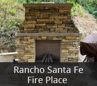 Rancho Santa Fe Fire Place Project