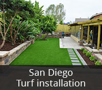 San Diego Turf Installation Project