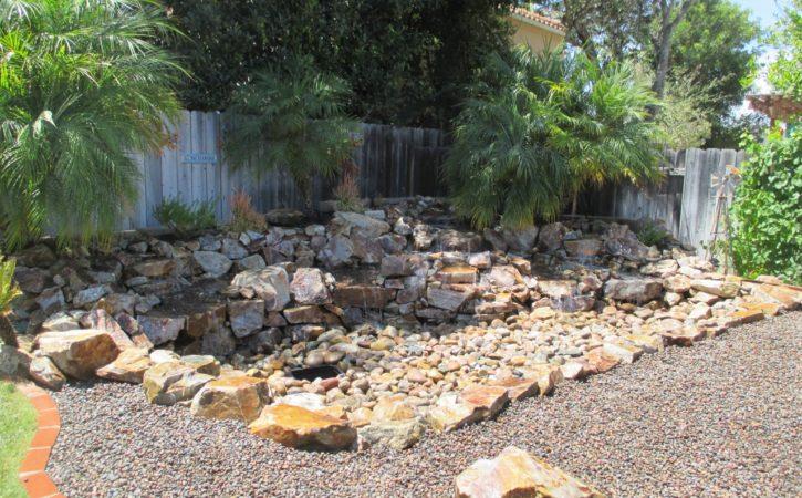 Osborne Pondless Waterfall Design San Diego
