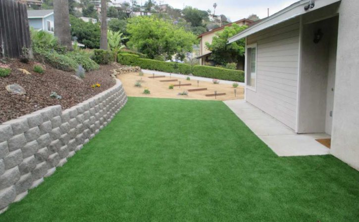artificial turf landscaping ideas 23