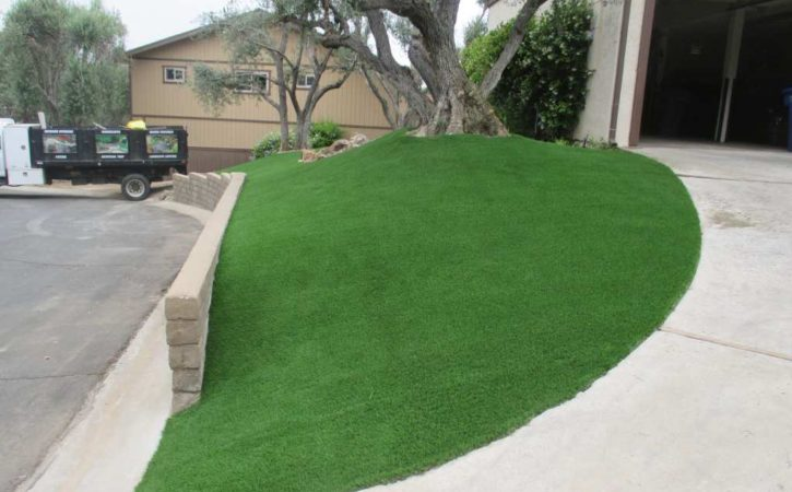artificial turf landscaping ideas 3