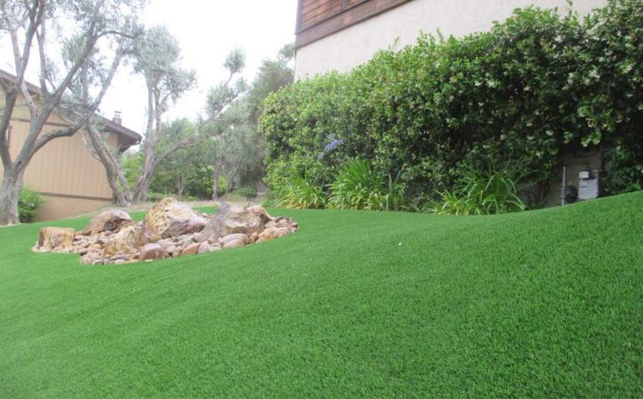 artificial turf landscaping ideas 4