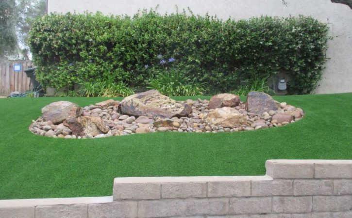 artificial turf landscaping ideas 5