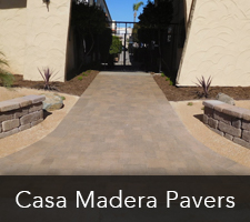 San Diego Pavers - Casamadera Paving Project