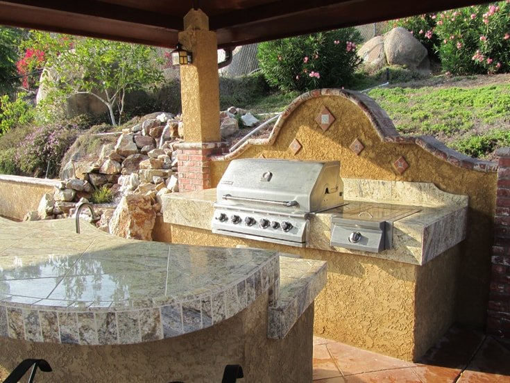 outdoor kitchen san diego