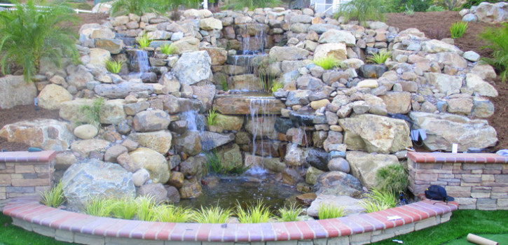 La Jolla Pond Landscaping Ideas