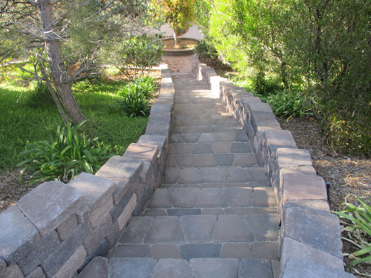 HARDSCAPES STEPS DAM 5