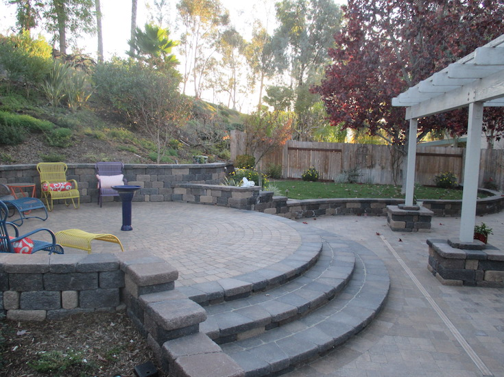 HARDSCAPES STEPS DAM 6