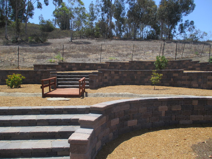 HARDSCAPES STEPS DAM 14