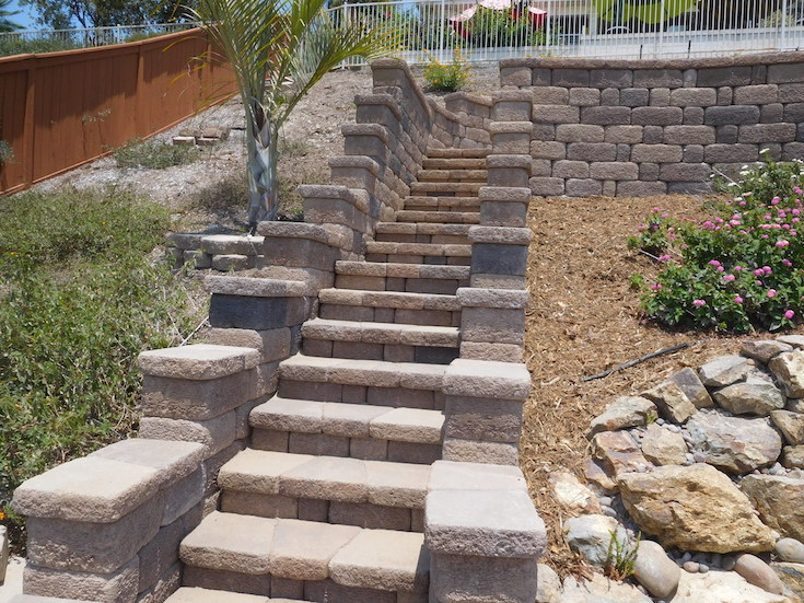 HARDSCAPES STEPS SANCHEZ 1