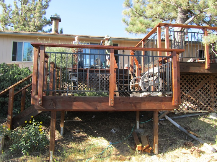 OUTDOOR LIVING DECKS DAD 3