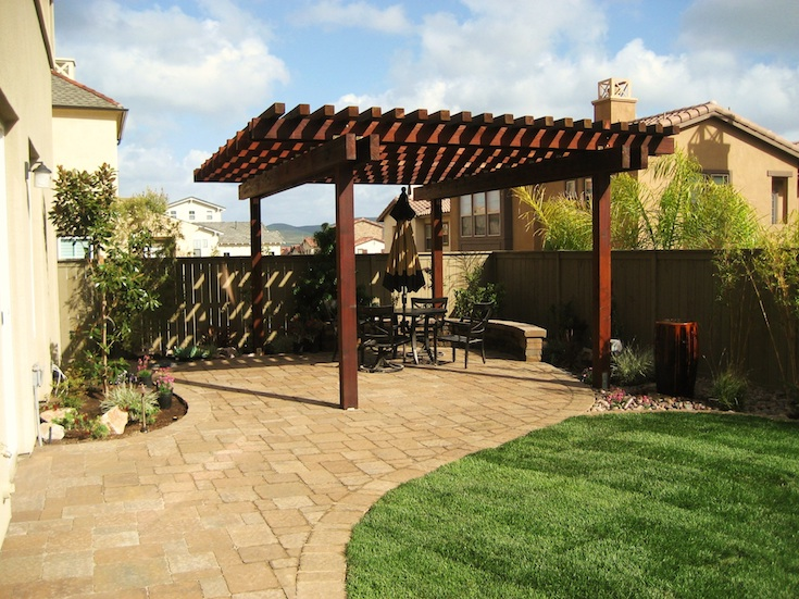 OUTDOOR LIVING PERGOLAS VITALE 1