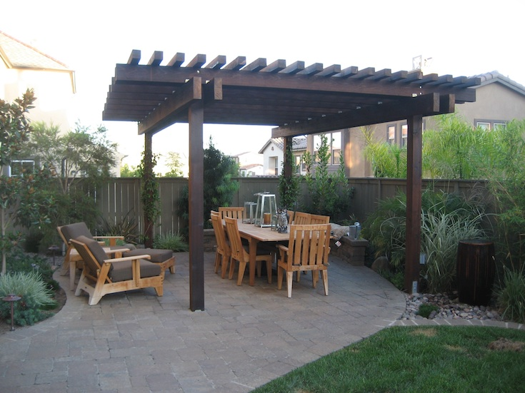 OUTDOOR LIVING PERGOLAS VITALE 3