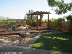 pondless waterfall construction in escondido