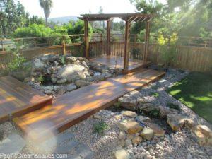 pondless waterfall construction in la mesa