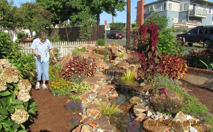 san diego pondless waterfall design 24463