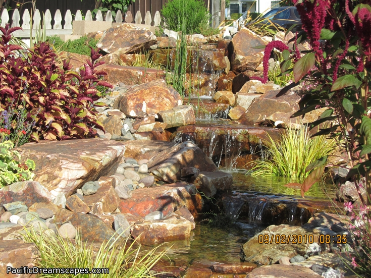 san diego pondless waterfall design