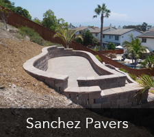 San Diego Pavers - Sanchez Paving Project