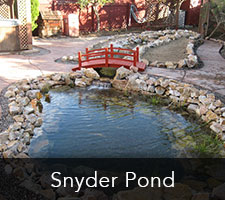 Snyder Pond Project