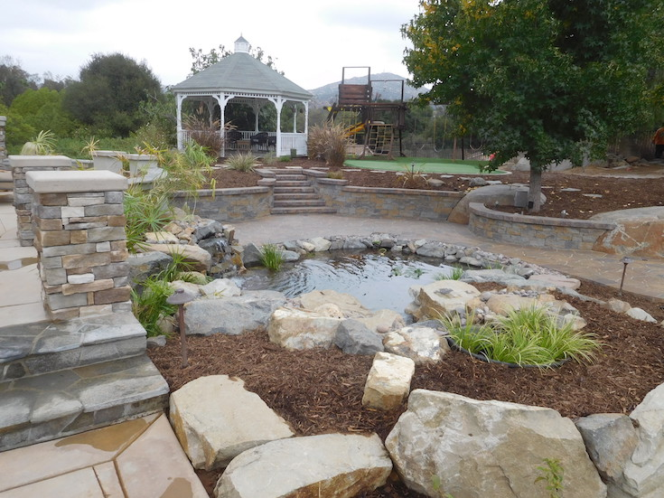 WATER FEATURES POND DESIGNS AGREDANO 0
