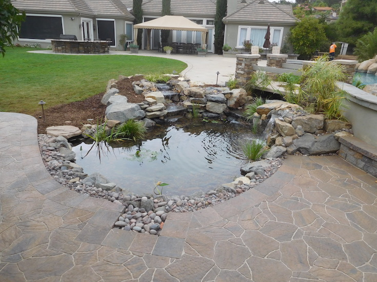 WATER FEATURES POND DESIGNS AGREDANO 2